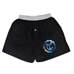 Yellowcard - Colorful Logo Black Boxer Shorts