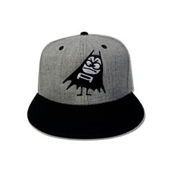 The Aquabats Bat Grey/Black Snapback
