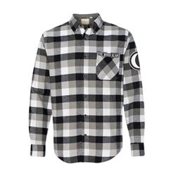 Moon/Logo Patch Black/White Flannel