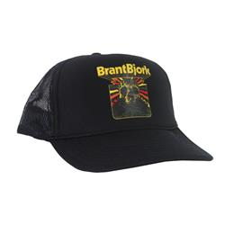 Skull Black Trucker Hat