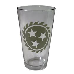 Sawblade  Pint Glass