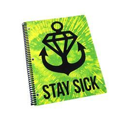 Slime Squad Tie Dye Notebook