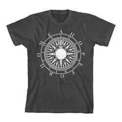 Compass Charcoal Tee $6 Sale! *Small Only*