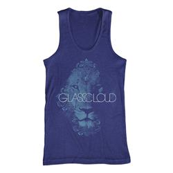 Lion Tri-Blue Tank Top
