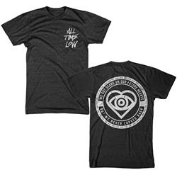Future Hearts Lyric Dark Heather T-Shirt