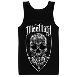 Dead On Time Black Tank Top