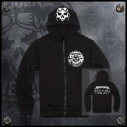 Rock N Roll Black Zip Up + DD