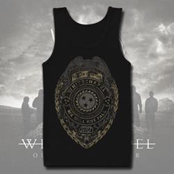 Authority Black Tank Top