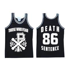 86 Black Basketball Jersey *Final Print*