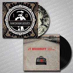 JT Woodruff+Hawthorne Heights LPs