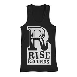 Big R White On Black Tank Top