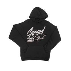 Graffiti Black Hooded Pullover