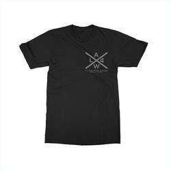 X Logo Black T-Shirt