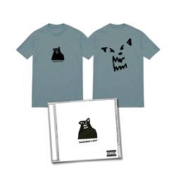 CD & Album Cover Light Blue T-Shirt