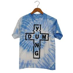 Yung & Dum Cross Baby Blue Spin Dye
