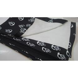 Diamond Logo Black Blanket