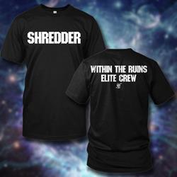 Shredder Black
