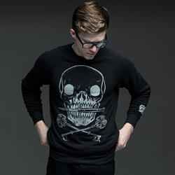 Surrender Black Crewneck