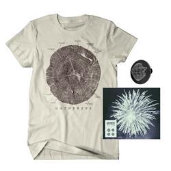 Quiet World CD + T-Shirt + Lapel Pin + Digital Download