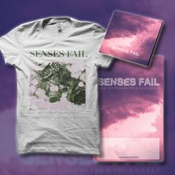 Pull The Thorns From Your Heart CD + Flower T-Shirt + Poster