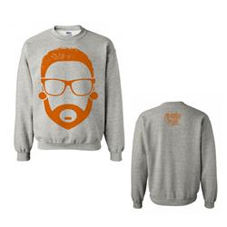 Cartoon Matty Heather Grey Crewneck