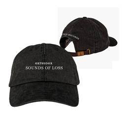 Sound Of Loss Washed Black Dad Hat