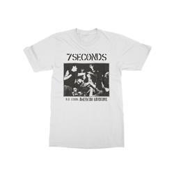 Old School American Hardcore White T-Shirt