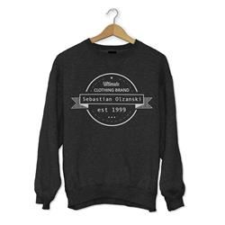 Ultimate Clothing Brand Dark Heather Crewneck