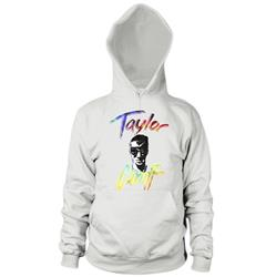 Tie-Dye Text White