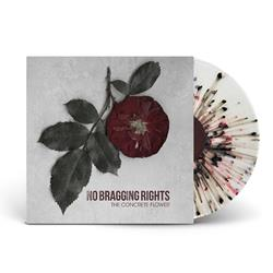 The Concrete Flower Clear w/Silver, Black, & Red Splatter LP