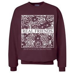 Lost Boy Floral Maroon