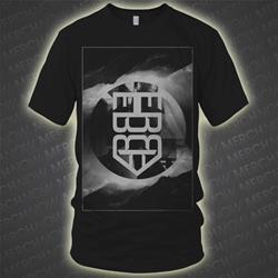 Mountains Black T-Shirt