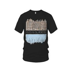 Buildings Black T-Shirt