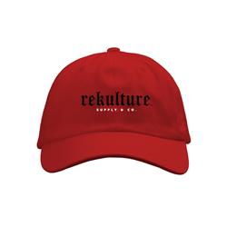 Logo Red Dad Hat