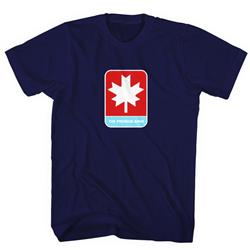 Maple Leaf Navy Blue