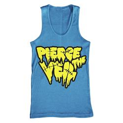 Stitches Heather Blue Tank Top