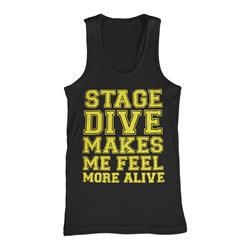 Stage Dive Black Tank Top