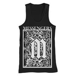 Emblem Black Tank Top *Sale! Final Print*
