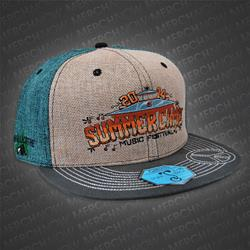 Grass Roots Green / Grey Snapback