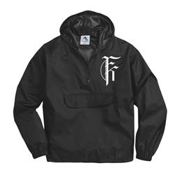 Icon Logo Black PULLOVER WINDBREAKER