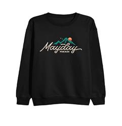 Mountain Black Crewneck