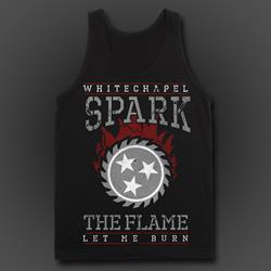 Spark Black Tank Top