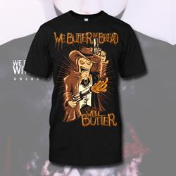 Hello Sheriff Black T-Shirt