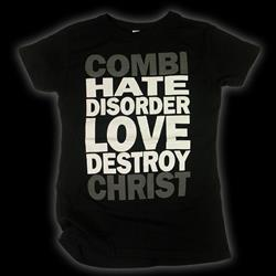 Hate Disorder Black Womens                                  Closeout