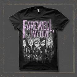 Cartoon Band Black T-Shirt