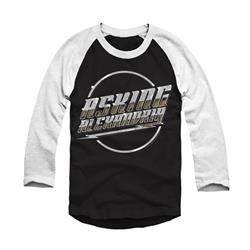 Judas Black/White Baseball Shirt