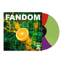 FANDOM Purple/Red/Green Tri-Color