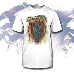 Raven White T-Shirt