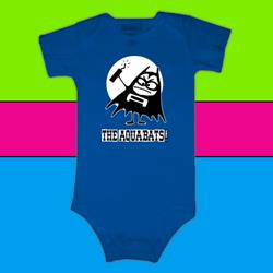 Aquabomber Blue Infant Onesie