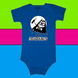 Aquabomber Blue Infant Onesie